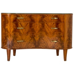 1940s Mahogany Chest of Drawers from Bodafors