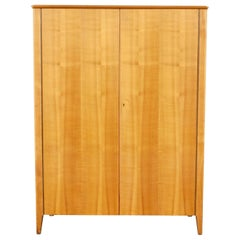 1940s Minimalist Storage Cabinet in Elm Made at NK, Stockholm