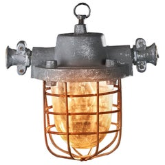 1940s Mining LPW-200 Anti-Explosion Lamp Raw
