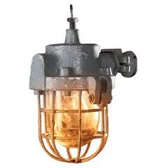 1940s Mining LPW Anti-Explosion Lamp Raw