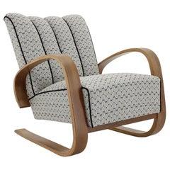 1940s Miroslav Navratil Cantilever Lounge Chair, Czechoslovakia