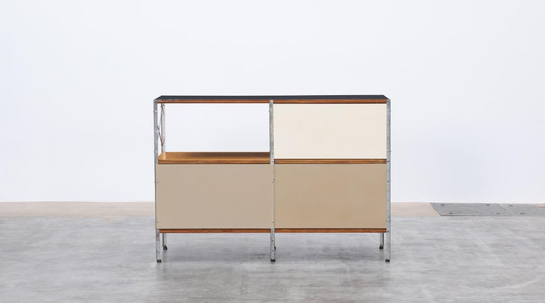 1940s multicolored ESU Shelf by Charles & Ray Eames 'c' For Sale 10