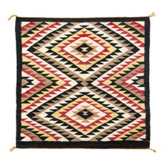 1940s Navajo Single Saddle Blanket