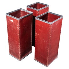 1940s Original Suroy Tall Industrial Storage Boxes, One Available