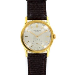 1940s Patek Philippe 18 Karat YG Collectors Watch Archived Papers Ref 2449