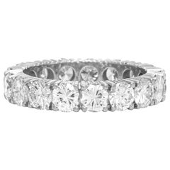 1940s Platinum with Diamonds Wedding Band