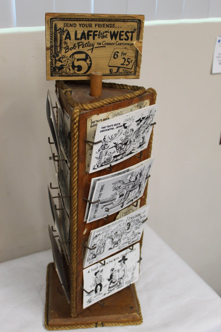 1940s Post Card Display Rack by Bob Petley For Sale 4