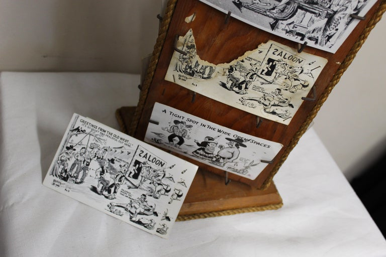 1940s Post Card Display Rack by Bob Petley For Sale 10