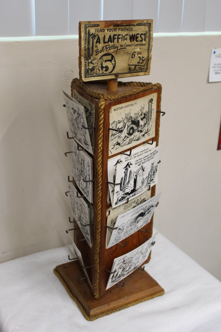 1940s Post Card Display Rack by Bob Petley For Sale 11