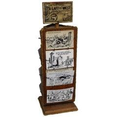 1940s Post Card Display Rack by Bob Petley