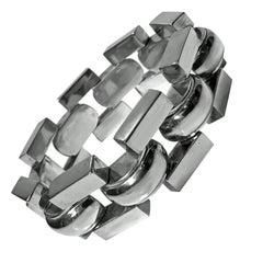1940s Retro Sterling Bracelet
