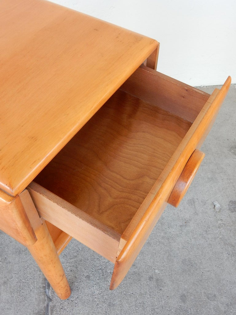 Art Deco 1940s Russell Wright Design American Modern Side Tables For Sale