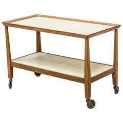 1940s Serving Trolley by Otto Schulz for Boet, Sweden, 1950s