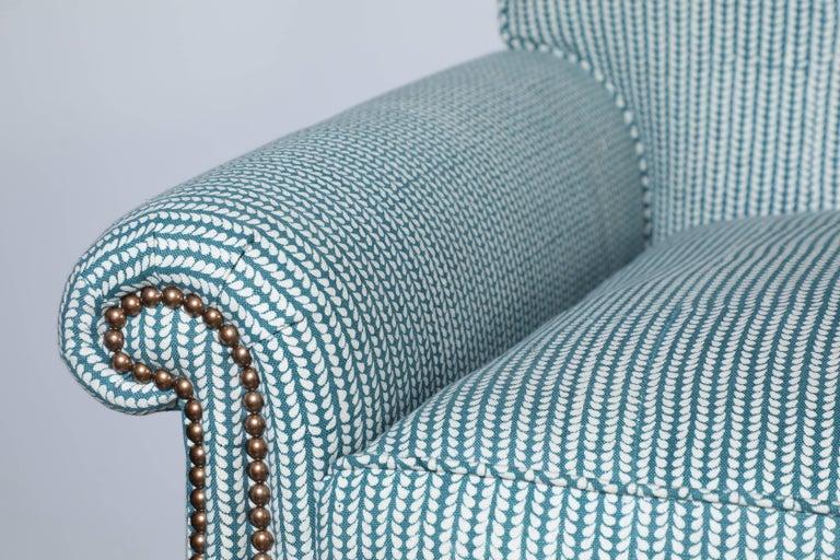 1940s Sofa With John Robshaw Fabric