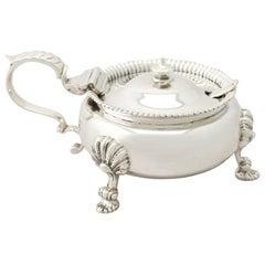 1940s Sterling Silver Mustard Pot