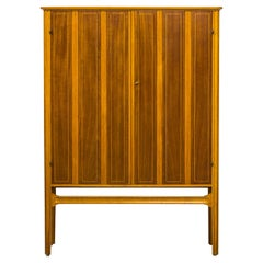 1940s Swedish Modern Cabinet with Marquetry