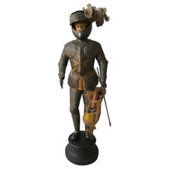 1940s Tin Figure of a Knight