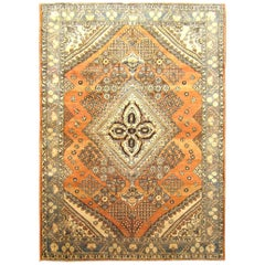 1940s Vintage Persian Baktiari Oriental Rug