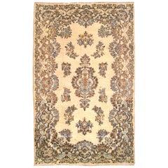 1940s Vintage Persian Kerman Oriental Rug