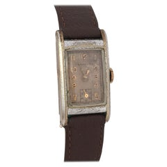 1940s Vintage Rectangular Invicta Mechanical Watch