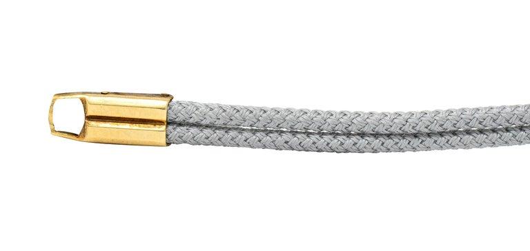 1941 Tiffany & Co. Green Tourmaline Diamond Platinum-Topped 14 Karat Gold Watch  1
