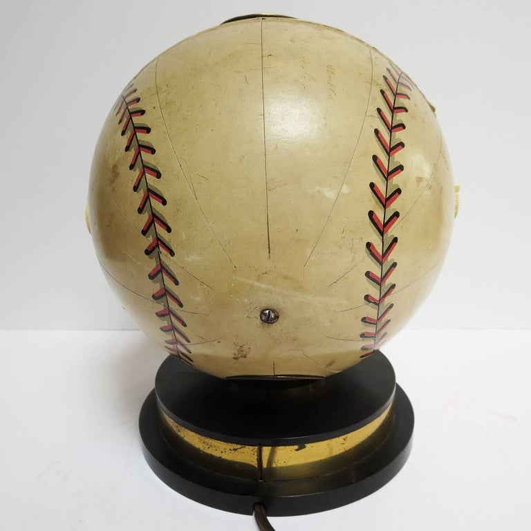 Mid-20th Century 1941 Trophy Baseball Radio, Working Condition For Sale