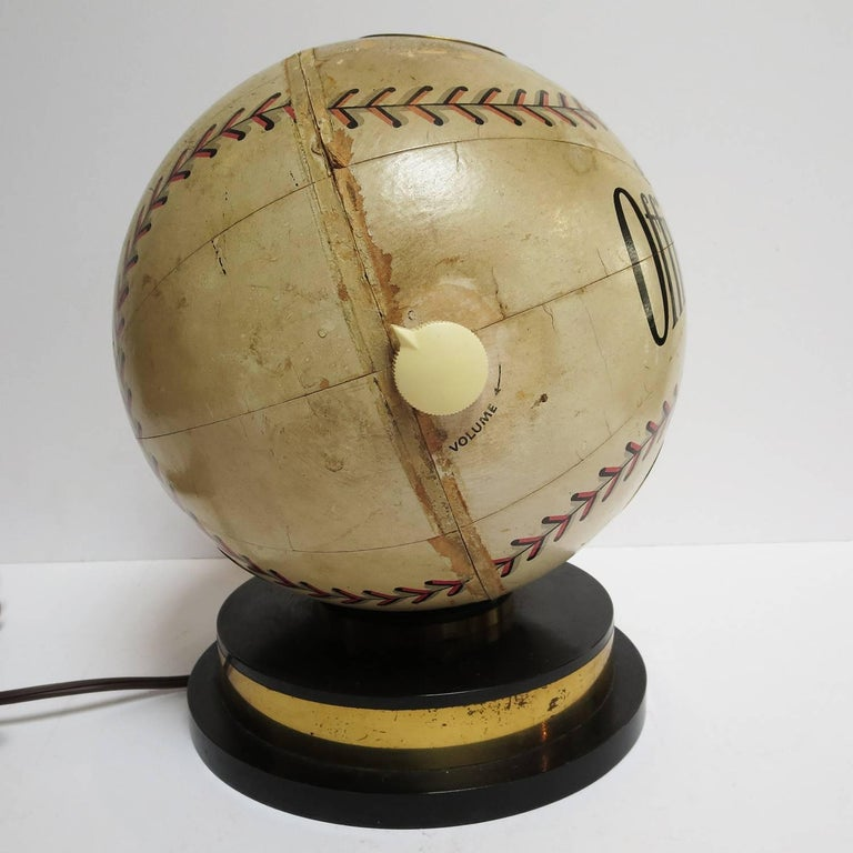 1941 Trophy Baseball Radio, Working Condition For Sale 1