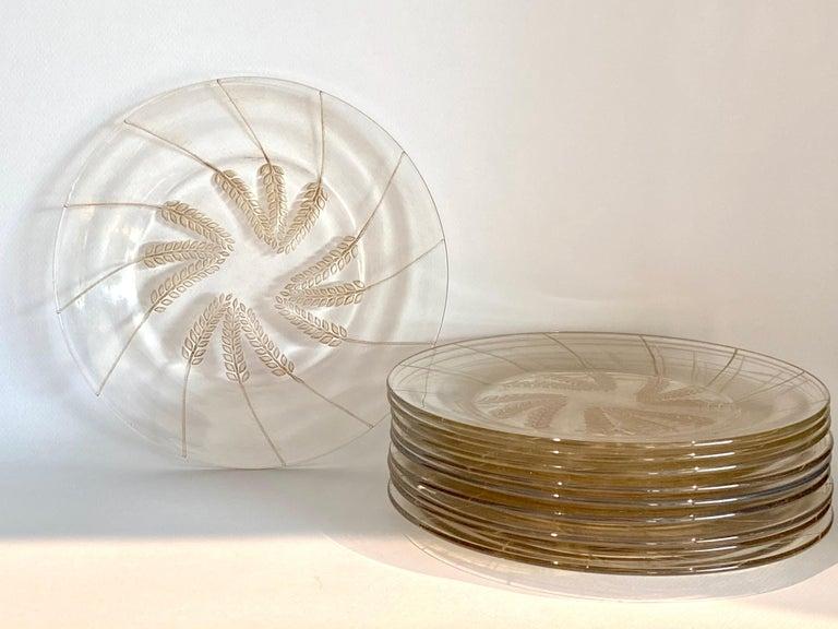 Set of 10 (ten) plates model