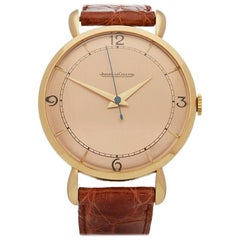 1945 Jaeger-LeCoultre Vintage Yellow Gold P450/4C Wristwatch