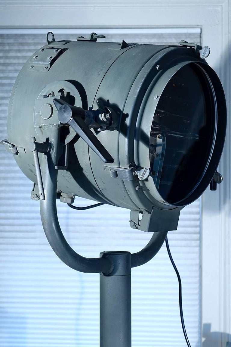 Mid-20th Century 1945 Navy Morse Code Signal Light For Sale