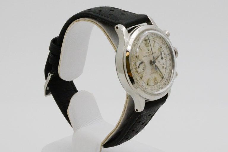 1945 Vintage Rolex Chronograph 3525 For Sale 2