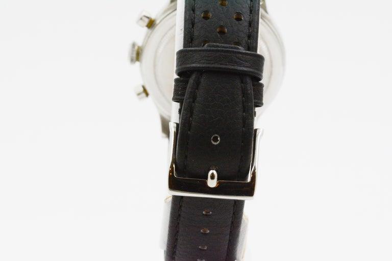1945 Vintage Rolex Chronograph 3525 For Sale 5