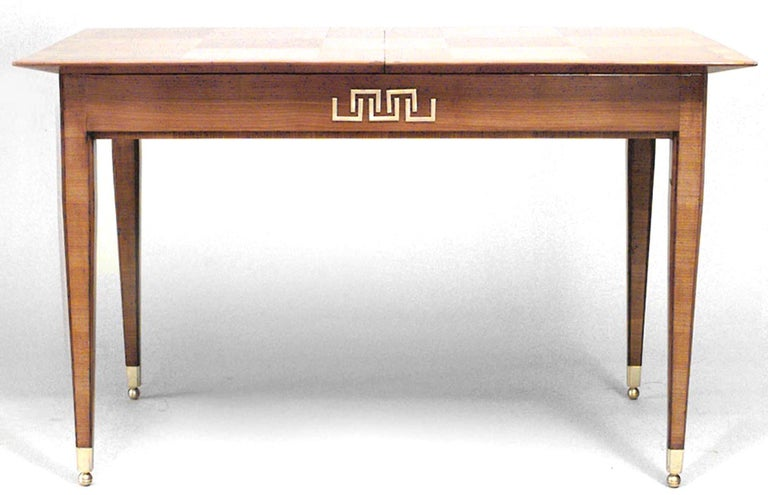 1946 French Extending Dining Table By Lucien Rollin For