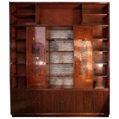 1947 Osvaldo Borsani, Marcello Piccardo for Arredamenti Borsani Varedo Library