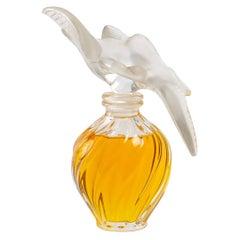 1948 Marc Lalique Giant Bottle L'Air du Temps Original Perfume Nina Ricci