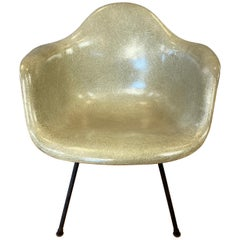 1949 Charles Eames Rope Edge Fiberglass Shell Armchair for Herman Miller