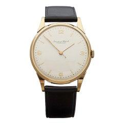 1949 IWC Vintage Cal.89 Yellow Gold Wristwatch