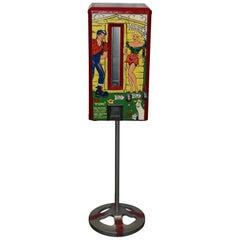 1949 Lil Abner 10 Cent Vendar-bar Candy Coin Op Vending Machine