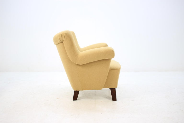 Mid-20th Century 1950 Large Lounge Chair, Czechoslovakia For Sale