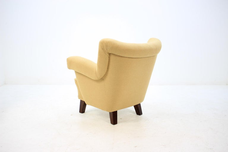 1950 Large Lounge Chair, Czechoslovakia For Sale 1