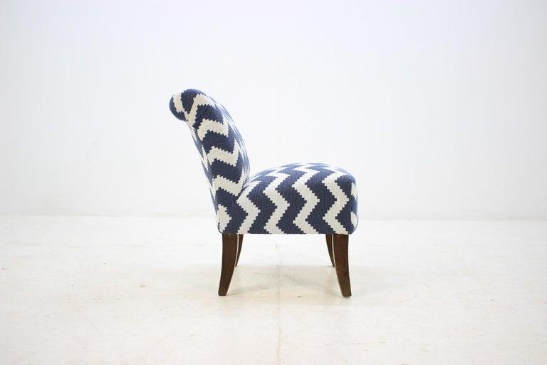 Mid-Century Modern 1950 Lounge Chair, Czechoslovakia For Sale