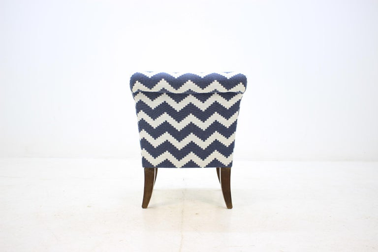 Danish 1950 Lounge Chair, Czechoslovakia For Sale