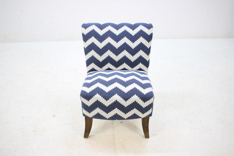 Mid-20th Century 1950 Lounge Chair, Czechoslovakia For Sale