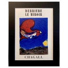 1950 Marc Chagall Lithograph Cover for Derriere le Miroir, No. 27/28, Paris