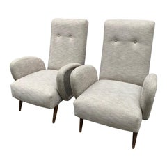 1950 Pair of Italian Armchairs