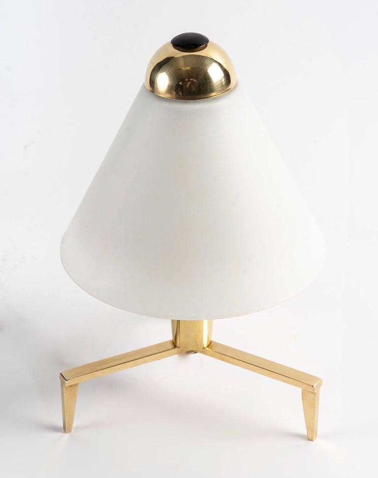 Mid-20th Century 1950 Pair of Maison Stilnovo Lamps