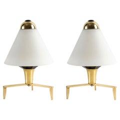1950 Pair of Maison Stilnovo Lamps