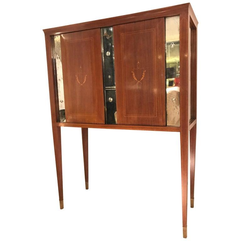 1950 Paolo Buffa Cabinet Bar For Sale