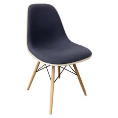 1950, Ray and Charles Eames for Herman Miller, DSS Upholstered Dowel Base Chair