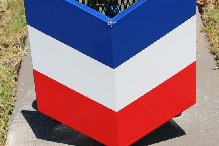 All original logo that was made for Chevron Gas Stations. Porcelain with some small imperfections but over all in great condition.